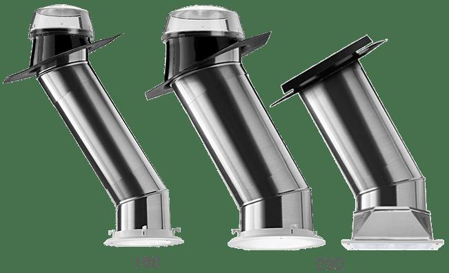 Světlovody série Solatube Brighten Up® s průměry 160 DS-250mm a 290 DS-350mm