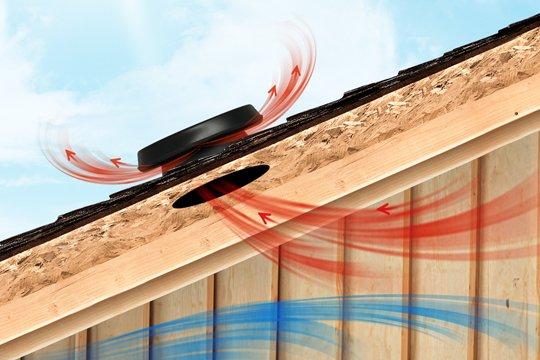 Vyřešte přehřívání objektu - instalujte solární ventilátor Solatube®